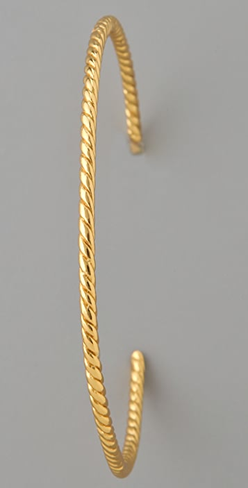 Gorjana Large Rope Hoops