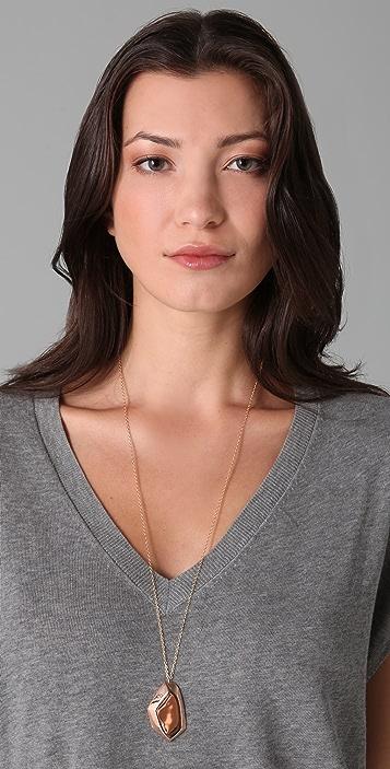 Gorjana Blake Long Faceted Necklace