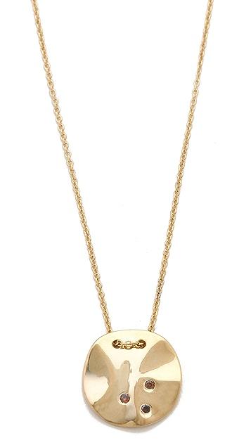 Gorjana Chloe Shimmer Pendant Necklace