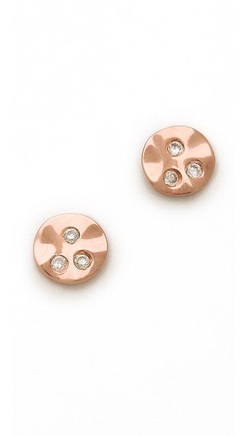 Gorjana Chloe Shimmer Stud Earrings