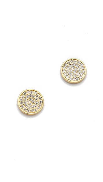 Gorjana Pristine Circle Stud Earrings