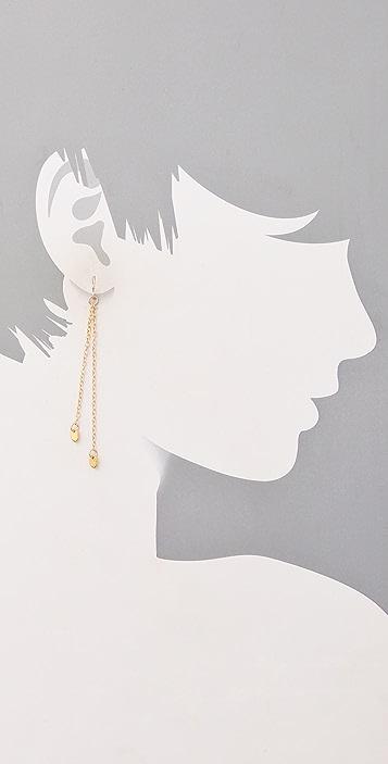 Gorjana Chevron Drop Earrings