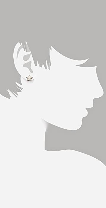 Gorjana Pristine Star Stud Earrings