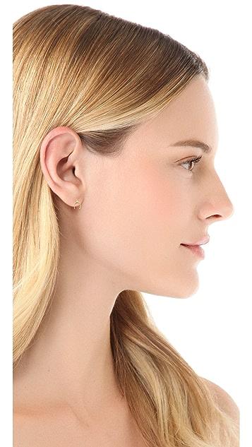Gorjana Wishbone and Star Stud Earrings