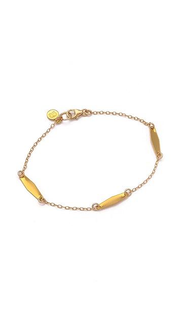 Gorjana Cora Varied Charm Bracelet