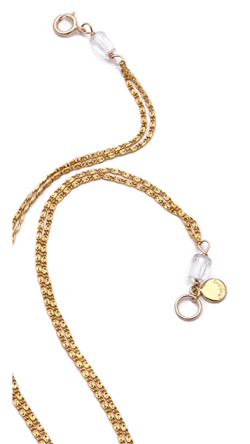 Gorjana Genevieve Long Necklace
