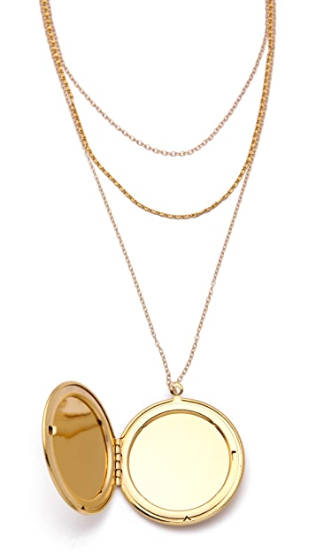 Gorjana Ella Layer Locket Necklace