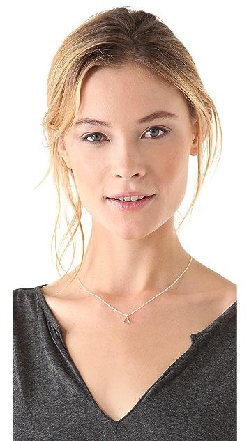 Gorjana Heart Charm Necklace