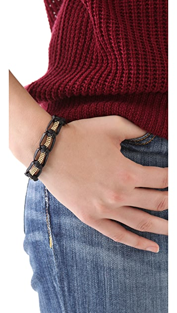 Gorjana Valencia Leather Bracelet
