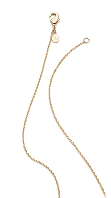 Gorjana Open Circle Necklace