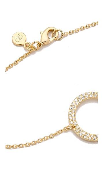 Gorjana CZ Open Circle Bracelet