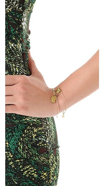 Gorjana Hamsa Charm Bracelet