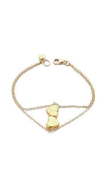 Gorjana Heart Bead Bracelet