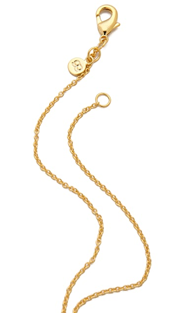 Gorjana Alphabet Necklace