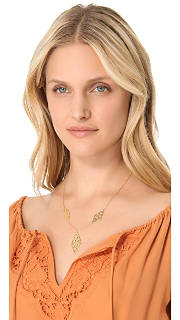 Gorjana Kaia Long Drop Necklace
