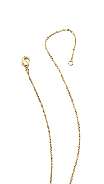 Gorjana Kaia 3 Charm Long Necklace