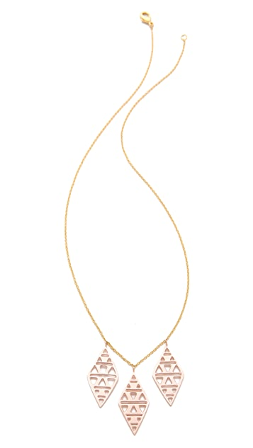 Gorjana Kaia Drop Necklace