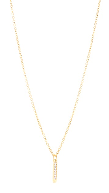 Gorjana Kennedy Drop Necklace