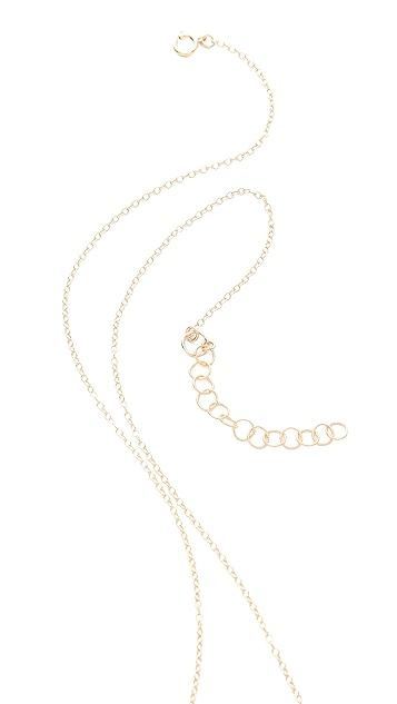 Gorjana Finley 3 Charm Necklace