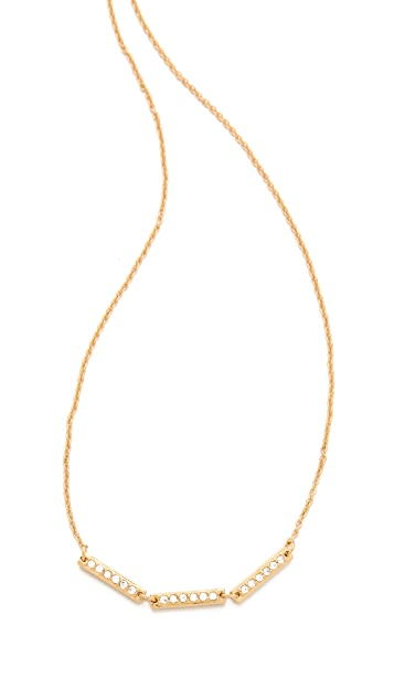 Gorjana Kennedy Three Bar Necklace