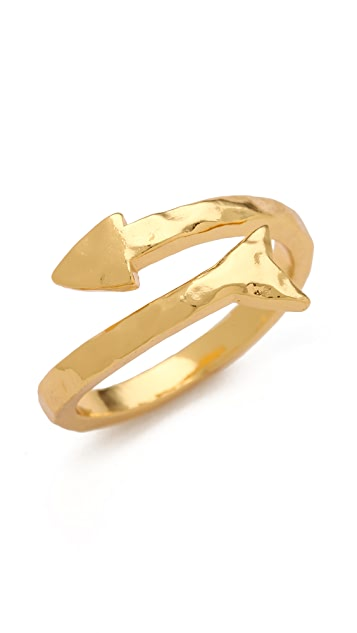 Gorjana Arrow Wrap Ring