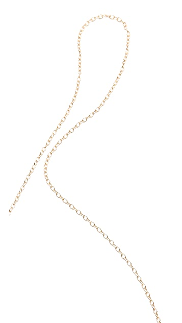 Gorjana Knox Bar Lariat Necklace