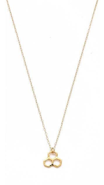 Gorjana Honeycomb Short Necklace