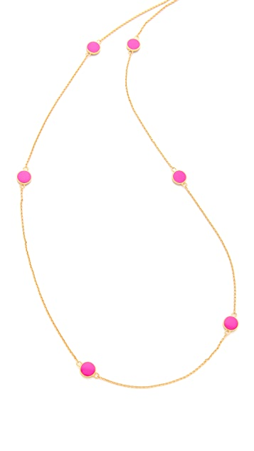 Gorjana Electric Disc Wrap Necklace