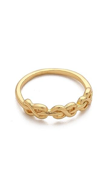 Gorjana Infinity Knot Ring