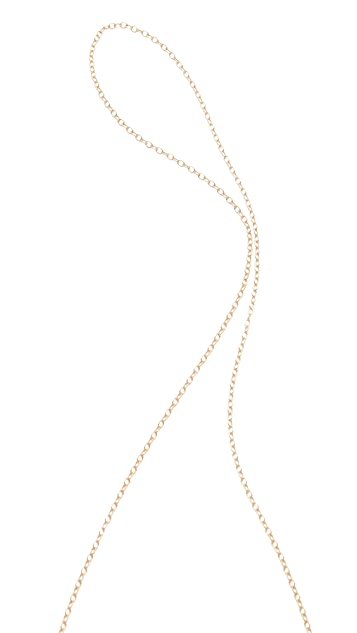 Gorjana Skye Lariat Necklace