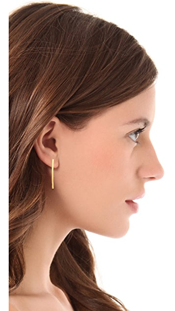 Gorjana Taner Pressed Stud Earrings