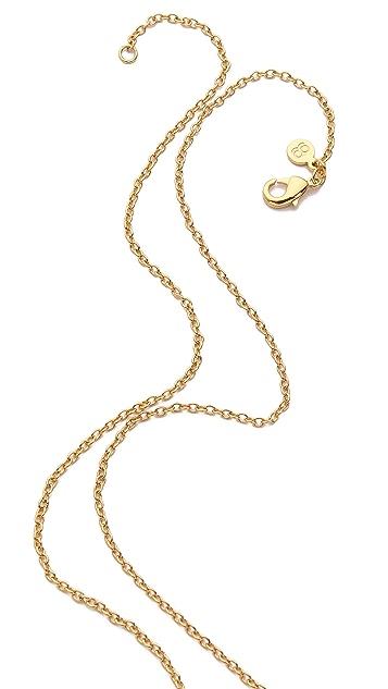 Gorjana Zigzag Enamel Large Necklace