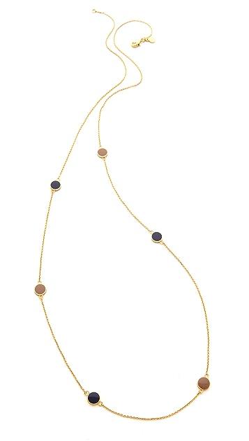 Gorjana Sunset Disc Wrap Necklace