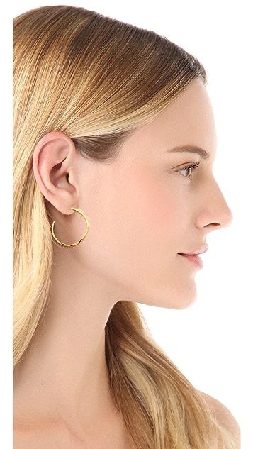 Gorjana G Press Small Hoop Earrings
