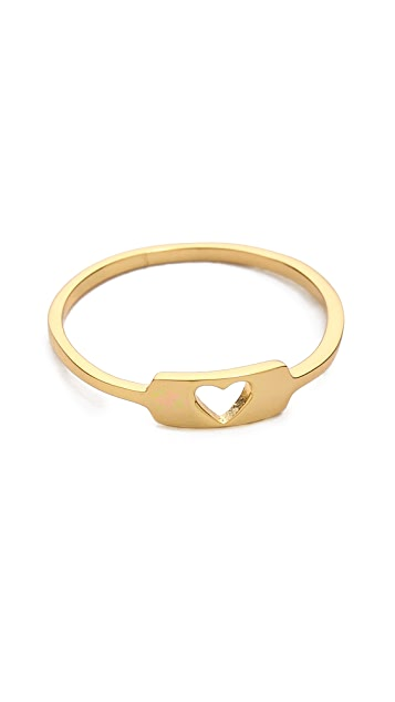 Gorjana Cutout Heart Ring