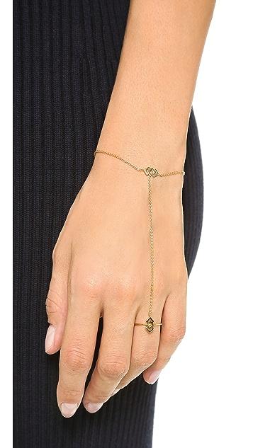 Gorjana Azra Ring to Wrist Bracelet