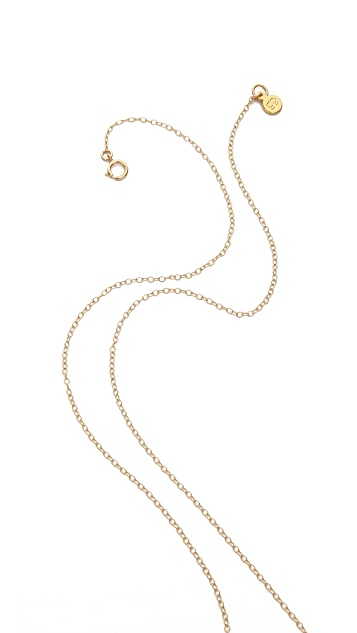 Gorjana Taner Curved Necklace