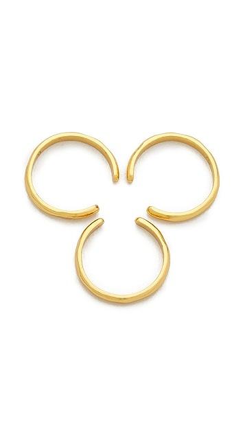 Gorjana Taner Cuff Ring Set