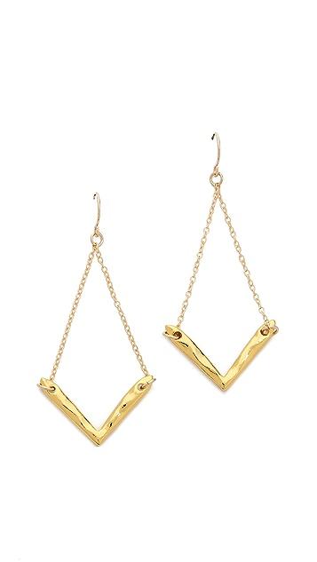 Gorjana Vista Drop Earrings