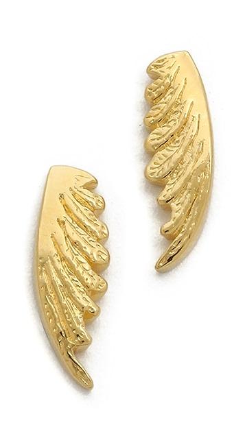 Gorjana Flight Drop Stud Earrings