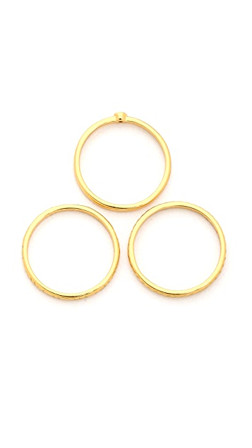 Gorjana Festival Midi Ring Set