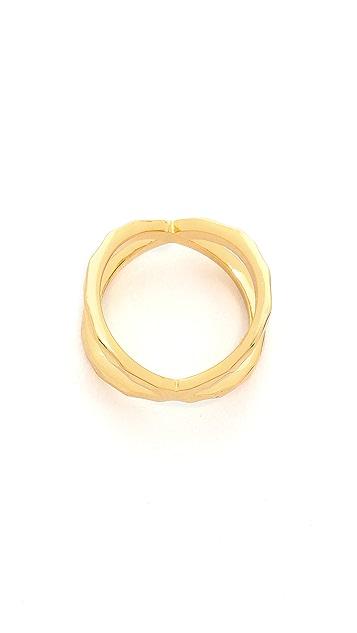 Gorjana Elea Crossover Midi Ring