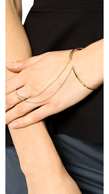 Gorjana Mave Ring to Wrist Cuff Bracelet