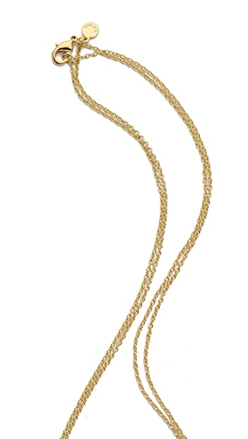 Gorjana Lilliana Fringe Necklace