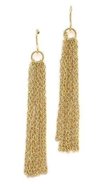 Gorjana Lilliana Fringe Drop Earrings