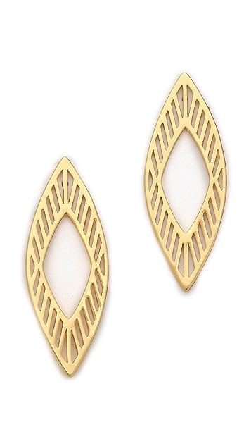 Gorjana Astoria Drop Stud Earrings
