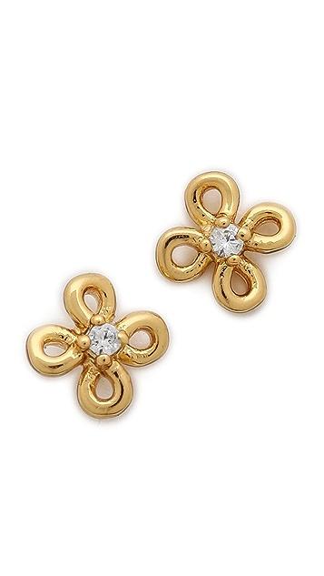 Gorjana Lily Tiny Shimmer Stud Earrings