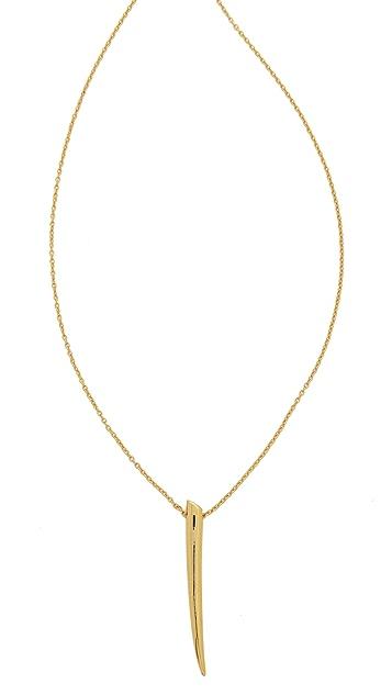 Gorjana Fancy Horn Long Necklace