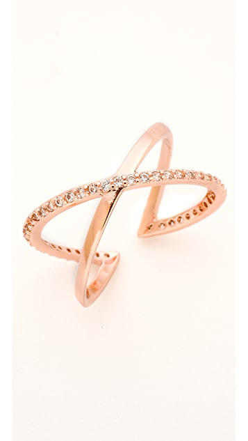 Gorjana Orbit Shimmer Cuff Ring