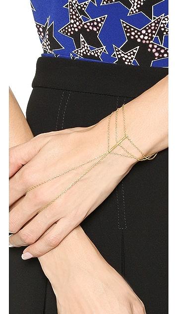 Gorjana Abbot Ring to Wrist Bracelet